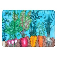 Mural Displaying Array Of Garden Vegetables Samsung Galaxy Tab 8.9  P7300 Flip Case