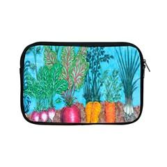 Mural Displaying Array Of Garden Vegetables Apple Ipad Mini Zipper Cases