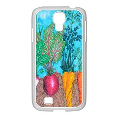 Mural Displaying Array Of Garden Vegetables Samsung GALAXY S4 I9500/ I9505 Case (White)