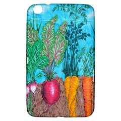 Mural Displaying Array Of Garden Vegetables Samsung Galaxy Tab 3 (8 ) T3100 Hardshell Case