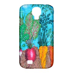 Mural Displaying Array Of Garden Vegetables Samsung Galaxy S4 Classic Hardshell Case (PC+Silicone)
