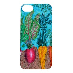 Mural Displaying Array Of Garden Vegetables Apple iPhone 5S/ SE Hardshell Case
