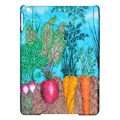 Mural Displaying Array Of Garden Vegetables Ipad Air Hardshell Cases