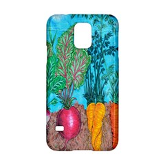Mural Displaying Array Of Garden Vegetables Samsung Galaxy S5 Hardshell Case
