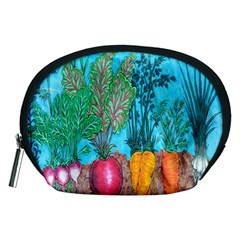 Mural Displaying Array Of Garden Vegetables Accessory Pouches (Medium)