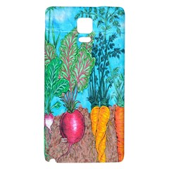 Mural Displaying Array Of Garden Vegetables Galaxy Note 4 Back Case
