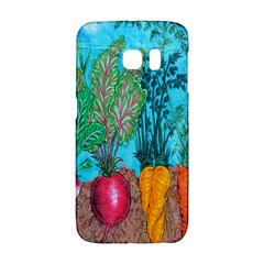 Mural Displaying Array Of Garden Vegetables Galaxy S6 Edge
