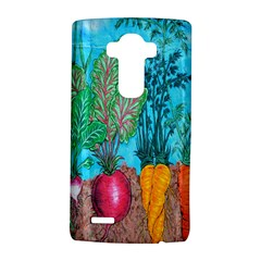 Mural Displaying Array Of Garden Vegetables LG G4 Hardshell Case