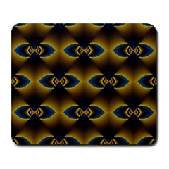 Fractal Multicolored Background Large Mousepads