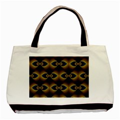 Fractal Multicolored Background Basic Tote Bag