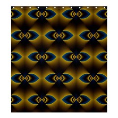 Fractal Multicolored Background Shower Curtain 66  X 72  (large)