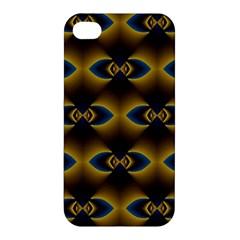 Fractal Multicolored Background Apple iPhone 4/4S Hardshell Case