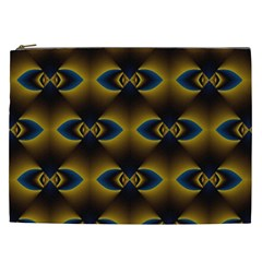 Fractal Multicolored Background Cosmetic Bag (XXL)