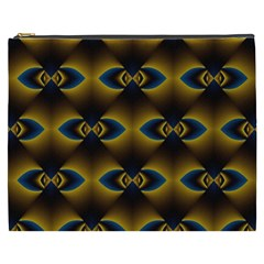 Fractal Multicolored Background Cosmetic Bag (XXXL)