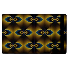 Fractal Multicolored Background Apple iPad 3/4 Flip Case
