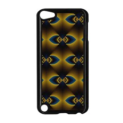 Fractal Multicolored Background Apple Ipod Touch 5 Case (black)
