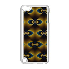 Fractal Multicolored Background Apple iPod Touch 5 Case (White)