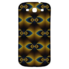 Fractal Multicolored Background Samsung Galaxy S3 S III Classic Hardshell Back Case