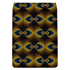 Fractal Multicolored Background Flap Covers (S)
