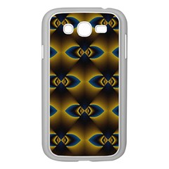 Fractal Multicolored Background Samsung Galaxy Grand DUOS I9082 Case (White)