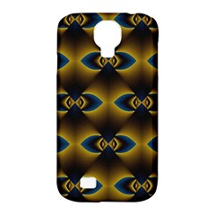 Fractal Multicolored Background Samsung Galaxy S4 Classic Hardshell Case (PC+Silicone)