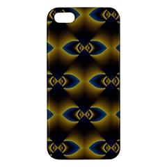 Fractal Multicolored Background iPhone 5S/ SE Premium Hardshell Case