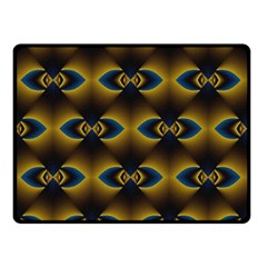 Fractal Multicolored Background Double Sided Fleece Blanket (Small)