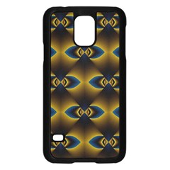 Fractal Multicolored Background Samsung Galaxy S5 Case (Black)