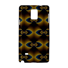 Fractal Multicolored Background Samsung Galaxy Note 4 Hardshell Case