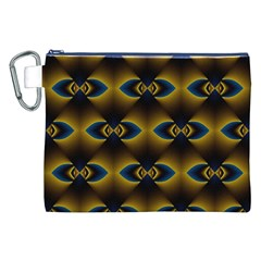 Fractal Multicolored Background Canvas Cosmetic Bag (XXL)