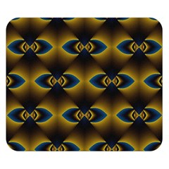 Fractal Multicolored Background Double Sided Flano Blanket (Small)