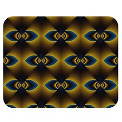 Fractal Multicolored Background Double Sided Flano Blanket (Medium)
