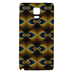 Fractal Multicolored Background Galaxy Note 4 Back Case