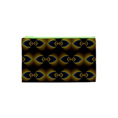 Fractal Multicolored Background Cosmetic Bag (xs)