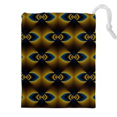 Fractal Multicolored Background Drawstring Pouches (xxl)