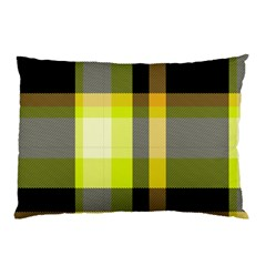 Tartan Pattern Background Fabric Design Pillow Case (Two Sides)