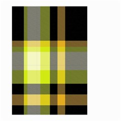 Tartan Pattern Background Fabric Design Small Garden Flag (Two Sides)
