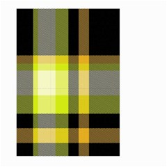 Tartan Pattern Background Fabric Design Large Garden Flag (Two Sides)