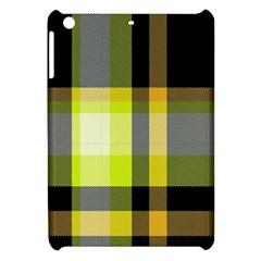Tartan Pattern Background Fabric Design Apple Ipad Mini Hardshell Case