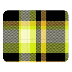 Tartan Pattern Background Fabric Design Double Sided Flano Blanket (Large)