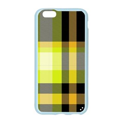 Tartan Pattern Background Fabric Design Apple Seamless iPhone 6/6S Case (Color)