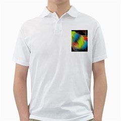 Punctulated Colorful Ground Noise Nervous Sorcery Sight Screen Pattern Golf Shirts