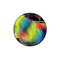 Punctulated Colorful Ground Noise Nervous Sorcery Sight Screen Pattern Hat Clip Ball Marker (10 pack)