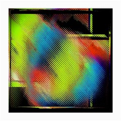 Punctulated Colorful Ground Noise Nervous Sorcery Sight Screen Pattern Medium Glasses Cloth