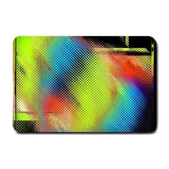 Punctulated Colorful Ground Noise Nervous Sorcery Sight Screen Pattern Small Doormat