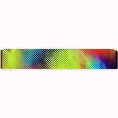 Punctulated Colorful Ground Noise Nervous Sorcery Sight Screen Pattern Small Bar Mats