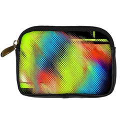 Punctulated Colorful Ground Noise Nervous Sorcery Sight Screen Pattern Digital Camera Cases