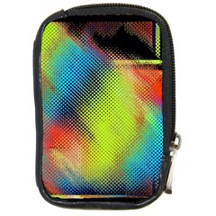 Punctulated Colorful Ground Noise Nervous Sorcery Sight Screen Pattern Compact Camera Cases