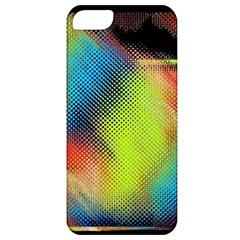 Punctulated Colorful Ground Noise Nervous Sorcery Sight Screen Pattern Apple iPhone 5 Classic Hardshell Case
