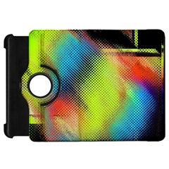 Punctulated Colorful Ground Noise Nervous Sorcery Sight Screen Pattern Kindle Fire HD 7